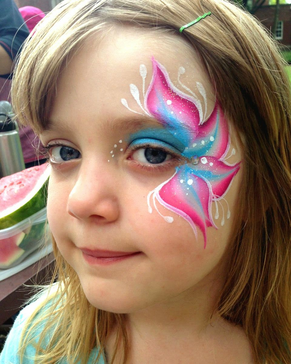 cute face painting ideas for girls ~ easy arts and crafts ...