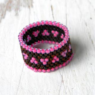 купить украшения из бисера хэндмейд магазин бижутерии кольца