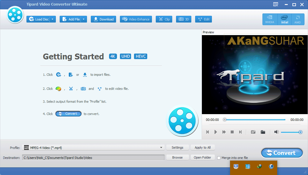 Download Tipard Video Converter Ultimate Full Patch