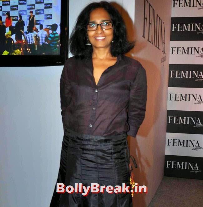 Sangeeta Gala, Huma Qureshi Pics in Red Top, White Skirt for Femina Magazine Launch
