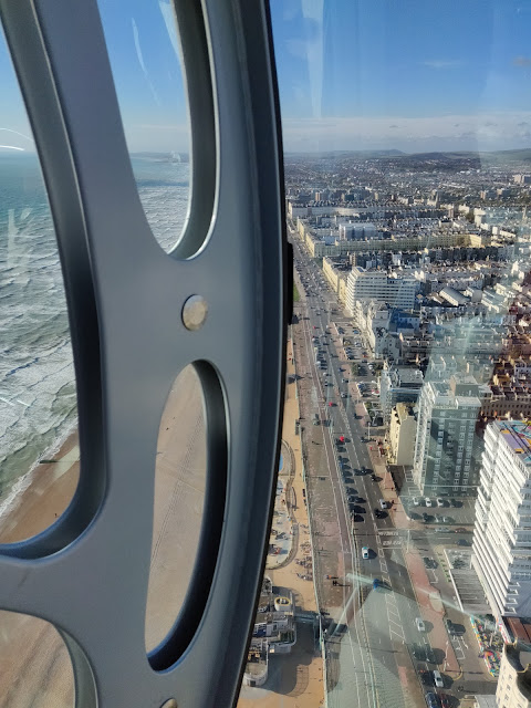 view from British Airways i360
