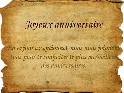 Message Danniversaire Pour Un Ami Denfance