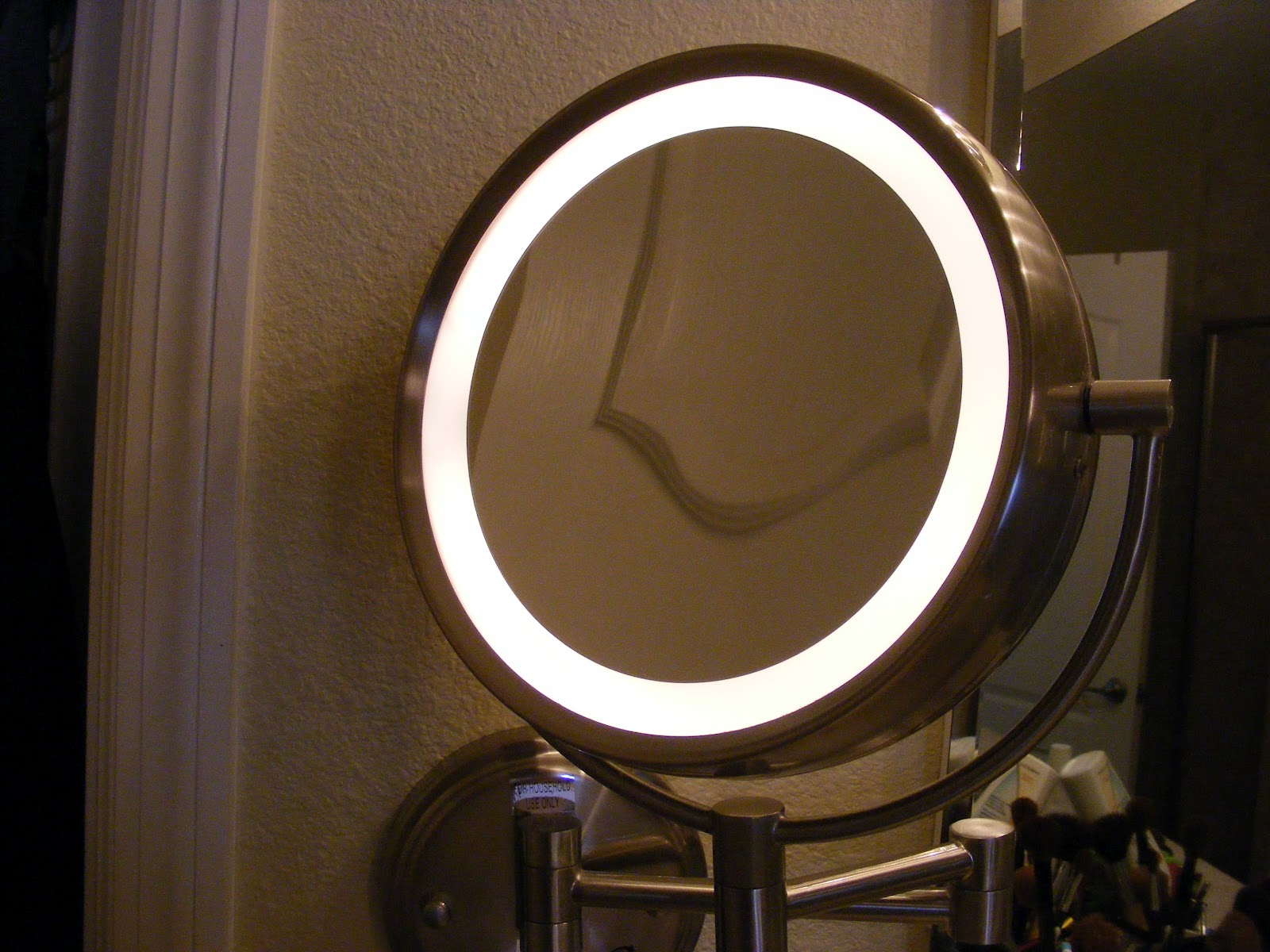 Now, The Next Sweet Feature Of My Makeup Mirror Is That It
