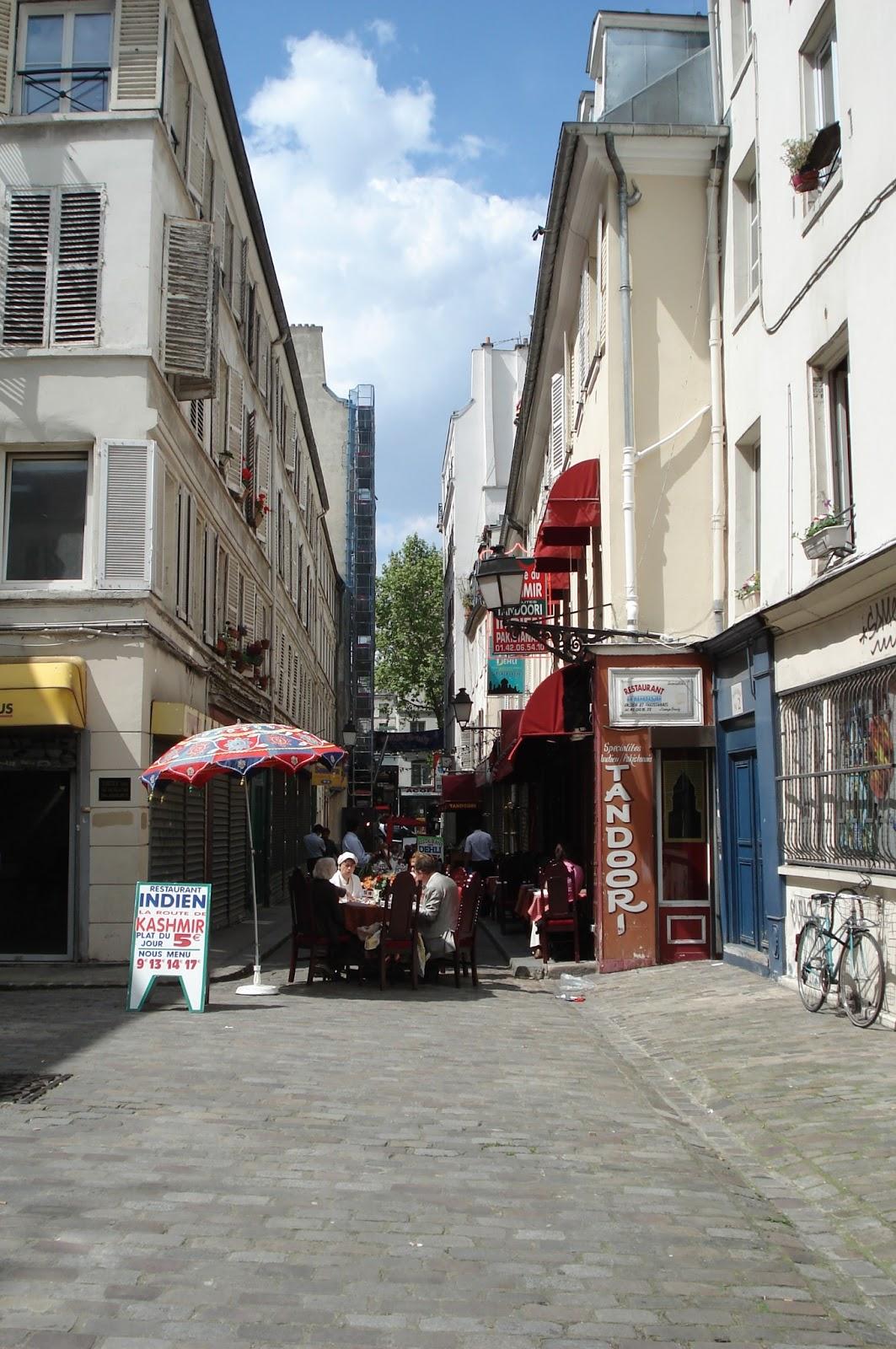 Restaurant Indien Boulevard Saint Denis Passage