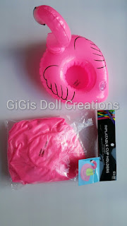 Gigi S Doll And Craft Creations Barbie Size Flamingo Pool