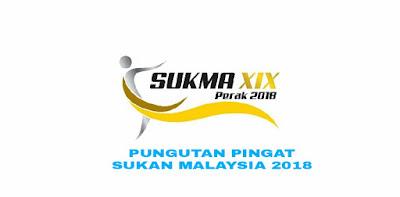 Senarai Pungutan Pingat SUKMA 2018 Sukan Malaysia
