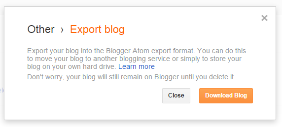 How to back up your Blogger blog from And Next Comes L