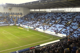 Ricoh Arena ahead of Coventry City versus Accrington Stanley