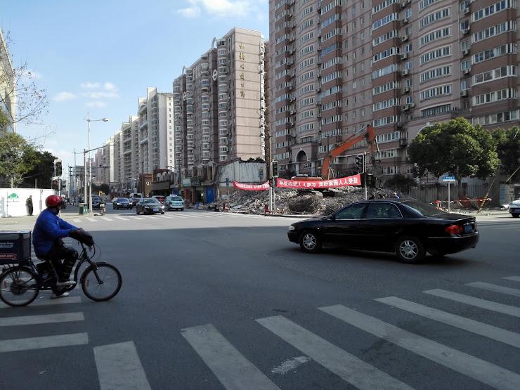 上海再開発の現場2