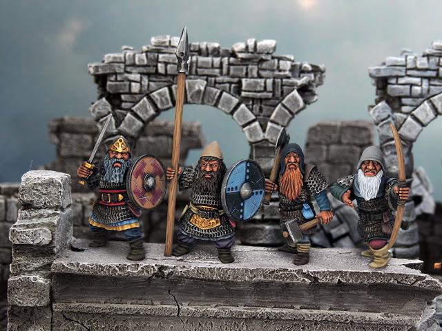 Northstar Miniatures: Plastic Fantasy Dwarf Infantry