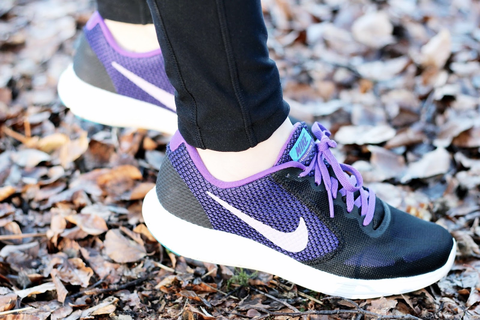 Nike Women's Purple Revolution Trainers