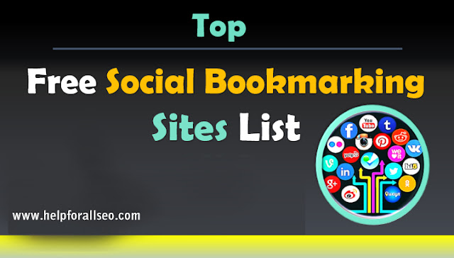 Top 650+ Social bookmarking Sites List for 2019 (High PR
