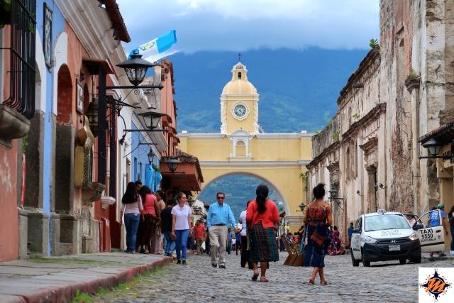 Antigua, Arco de Santa Catalina