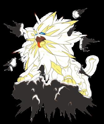 Solgaleo Pokémon Sun & Moon