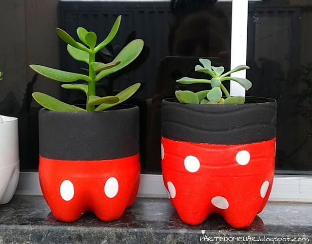 diy mickey e minnie