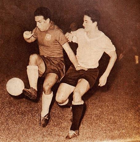 Chile y Uruguay en Campeonato Sudamericano de 1959