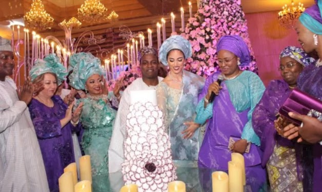 Oil Tycoon & Billionaire Folorunsho Alakija's Son Weds - Aisha Buhari & Others Attends