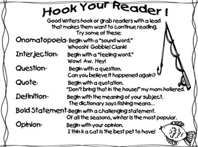 Ways to hook your reader. How to Write a Good Hook for
