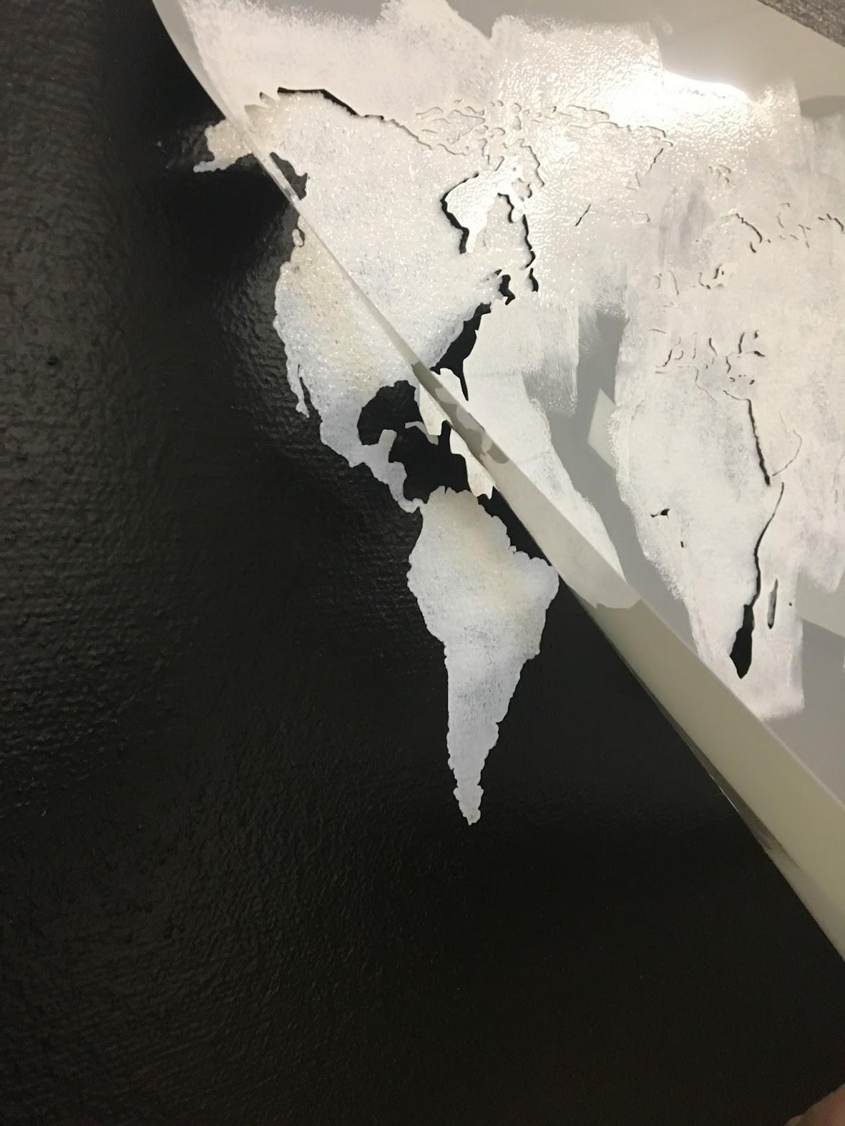A quick wall makeover with stencilrevolution.com