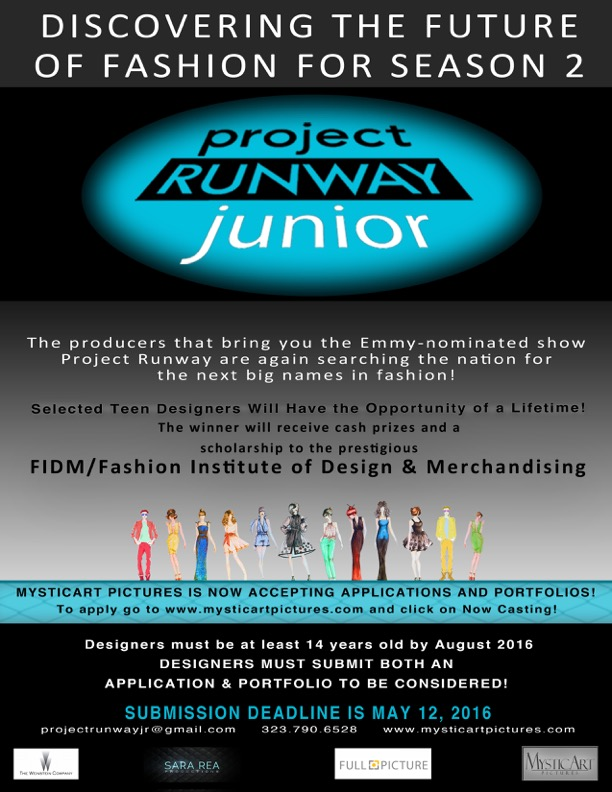 CASTING SEASON 2 FOR PROJECT RUNWAY JUNIOR