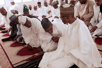 The meeting is the first since President Buhari returned from his medical vacation on March 10, 2017