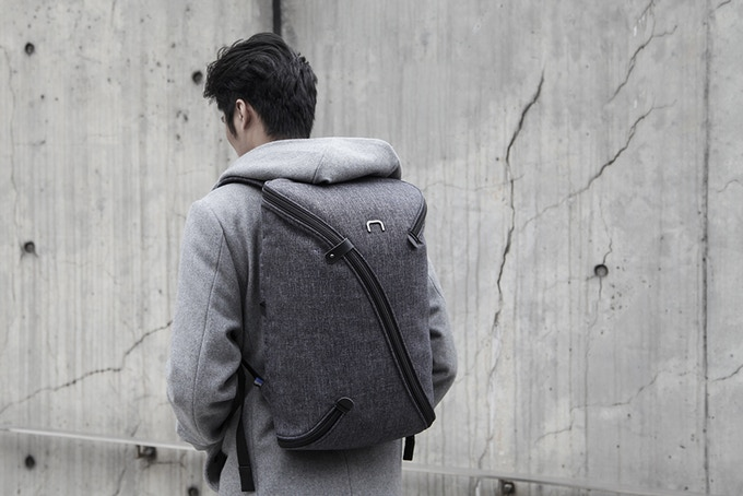 UNO II - The First Interchangeable Backpack.