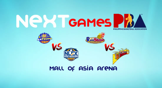 List of PBA Games: February 28 at MOA Arena 2017-2018 PBA Philippine Cup