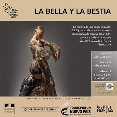 DESDE FRANCIA LA BELLA Y LA BESTIA (DANZA)