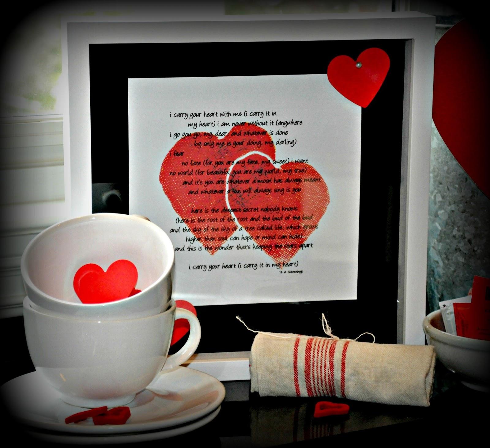 Serendipity Refined Blog: Valentine's Day Decor and A Free ... Free Printable Valentine's Day Decorations