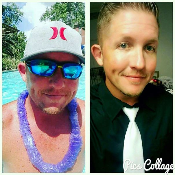 10+ Before-And-After Pics Show What Happens When You Stop Drinking - 3 Months Difference.. Left To Right.