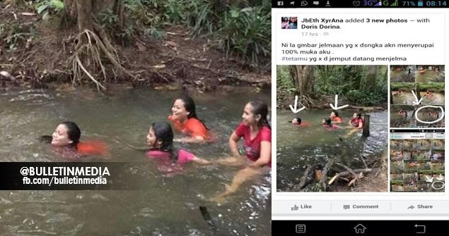 PADAHHHH ! SERAMMM GILA ! Gara-gara 3 Gadis Ini Seronok Mandi Bersama Di Sungai Tanpa Sedari Ada Tatamu Yang Tak Diundang Terakam Sekali! SUNGGUH MENYERAMKAN !!