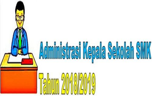 Administrasi Kepala Sekolah SMK Tahun 2018/2019