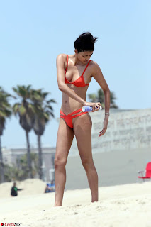 Neelam Gill in Red Bikini   16.jpg