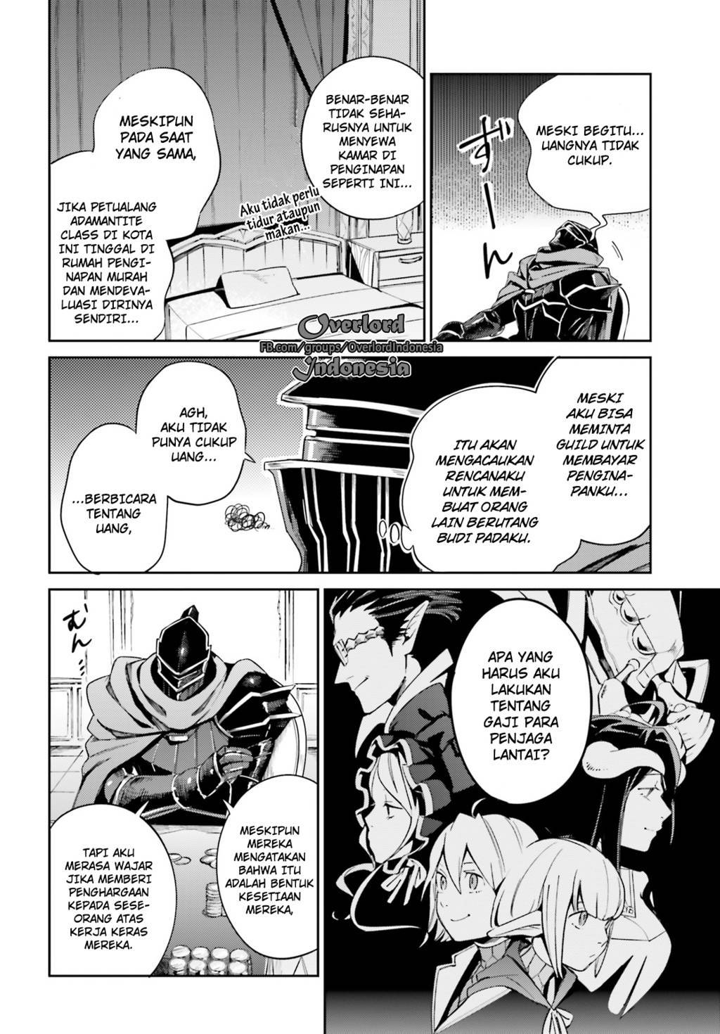 Overlord chapter 31 Bahasa Indonesia
