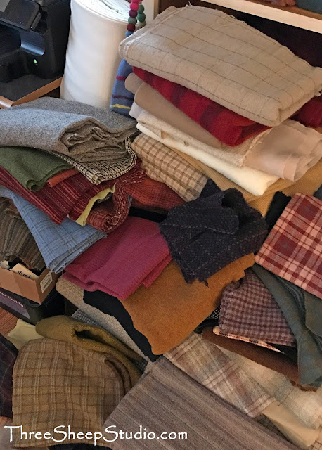 Wool Fabric - ThreeSheepStudio.com