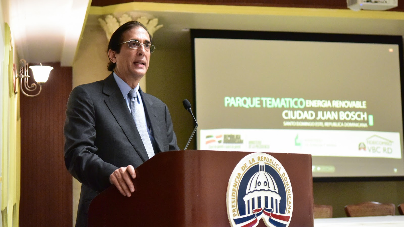 VIDEO: Gustavo Montalvo anuncia construirán Parque Temático Energía Renovable de Ciudad Juan Bosch