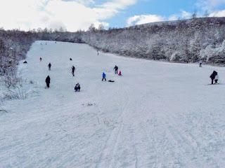 Синяк. Горно-лыжная трасса