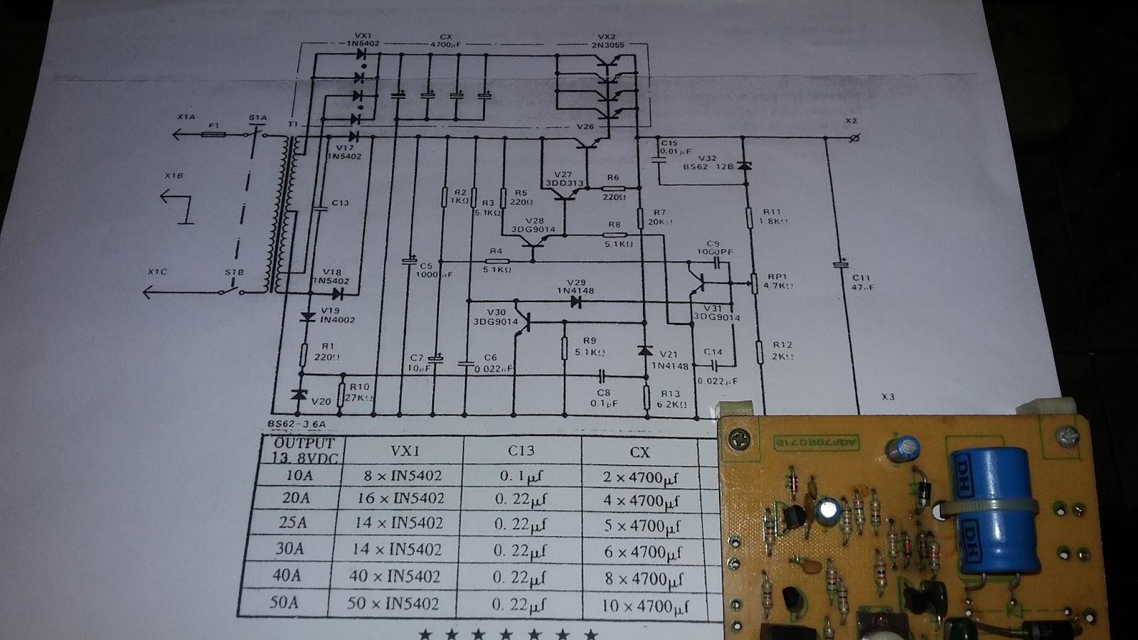 RadioaficionCR: Diagrama DVP 2212 Nippon