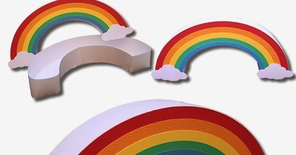 Bits Of Paper: 3D Rainbow Box