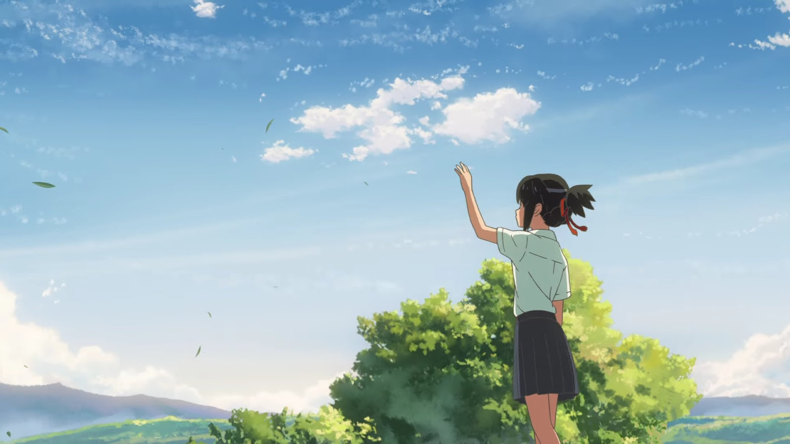 Screen drugi z Kimi no Na wa. x Suntory