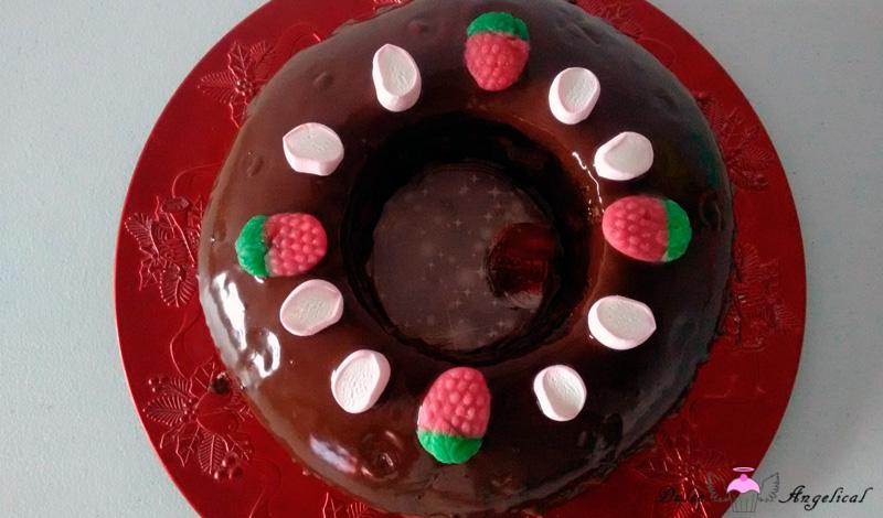 Receta del Roscón de Reyes de chocolate y trufa