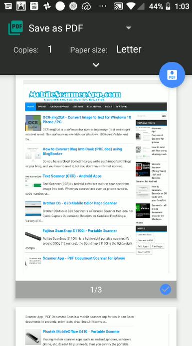 Cara mengambil snapsot halaman web penuh di Android dengan Web Page Capture