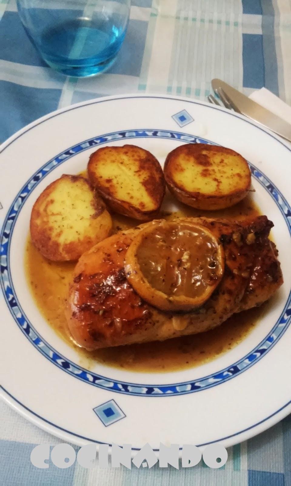 Cocinando pechugas de pollo al lim n - Pechugas al limon ...