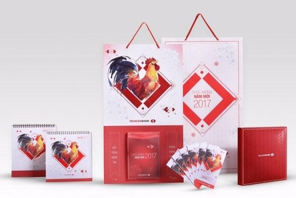 Bộ lịch và phong bao lì xì Tết Đinh Dậu Techcombank giành giải thưởng thiết kế quốc tế A' Design Award 2017
