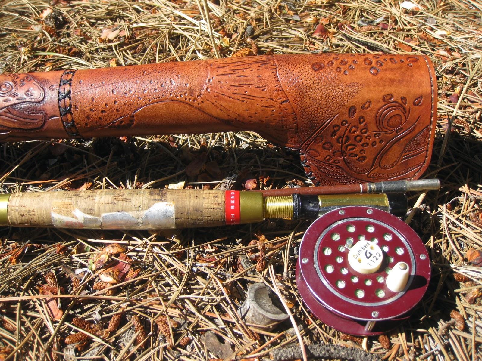Joghard Leather Fly Rod Case