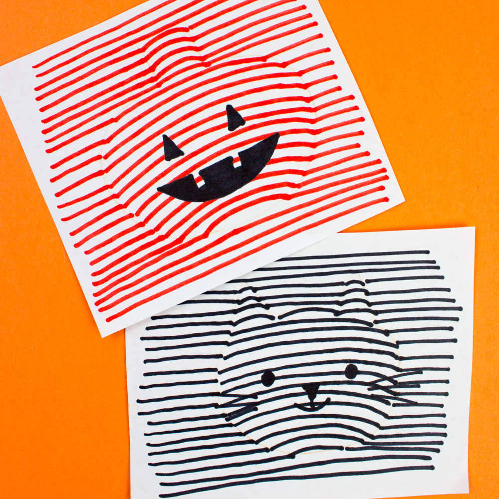 how to do 3d optical illusion halloween drawings such a fun and quick art challenge