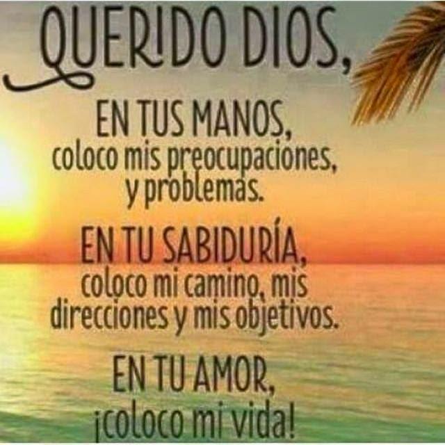 dios eterno en tus manos pongo nuestras vidas dbr