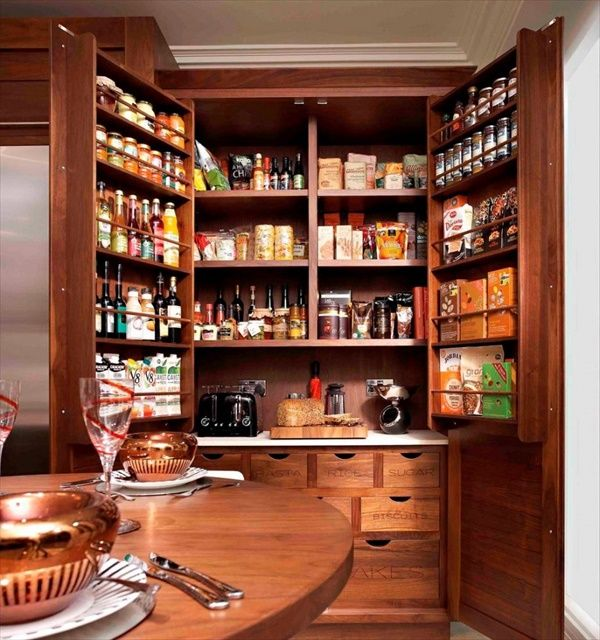 Kitchen Beautiful And Space Saving Kitchen Pantry Ideas: Small Kitchen Remodeling Ideas With Space Saving Pantry