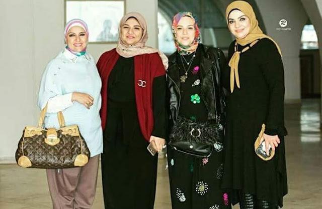 كونى ملكة مع مسابقة ملكة جمال الحجاب لعام 2017