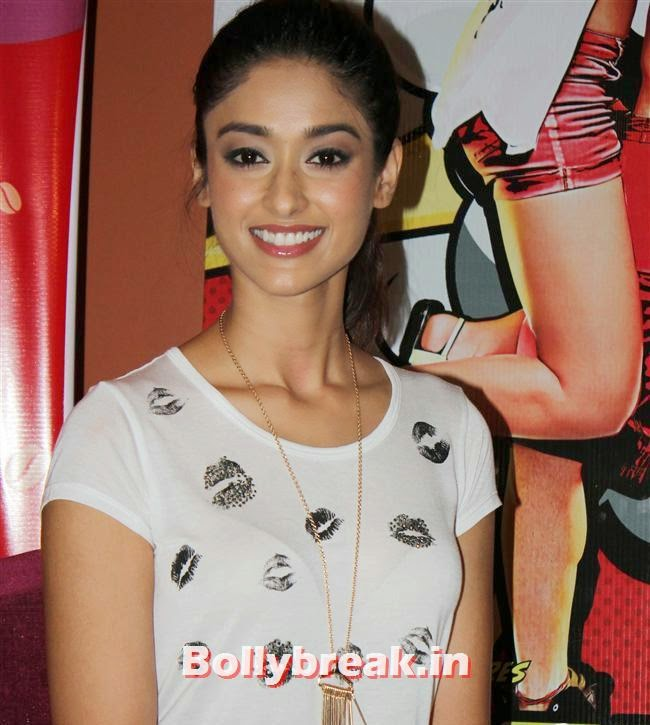 Ileana D'Cruz, Ileana D'Cruz and Varun Dhawan promotes 'Main Tera Hero' at Cafe Coffee Day